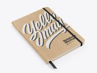 Kraft Notebook Mockup