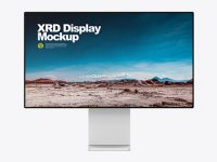 XDR Display Frontal Mockup