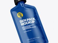 Glossy Doy-Pack Mockup