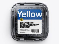 Container w/ Blackberry Mockup