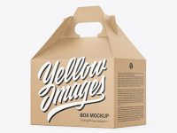 Kraft Paper Box with Handle