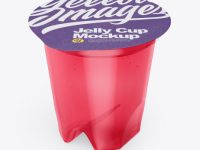 Jelly Cup Mockup