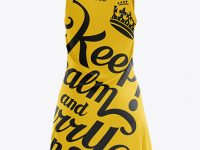 Netball Dress HQ Mockup - Back View