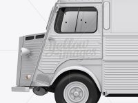 Citroën HY Van Mockup - Left Side View
