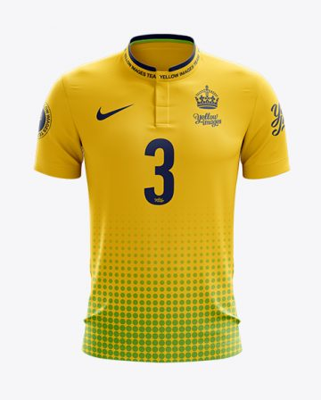 Soccer Jersey Mockup - Front View