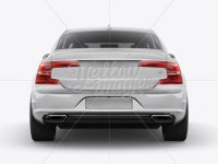 Volvo S90 Mockup - Back View