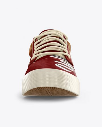 Sneaker Mockup - Front View