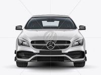 Mercedes CLA 45 AMG Mockup - Front View