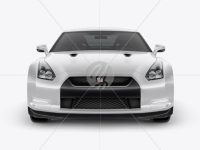 Nissan GTR Mockup - Front view