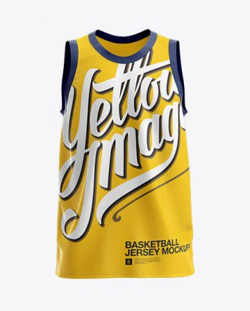 Basketball Jersey Mockup - Front View