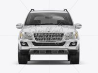Mercedes-Benz ML Mockup - Front view