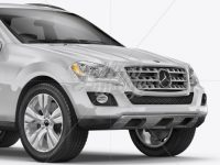 Mercedes-Benz ML Mockup - Half Side View