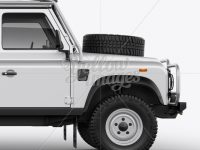Land Rover Defender - Side View