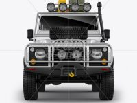 Land Rover Defender - Front View