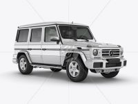 Mercedes-Benz G class Mockup - Half Side view