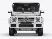 Mercedes Benz G class Mockup - Front view