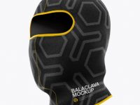 Balaclava Mockup - Half Side View (Hero Shot)