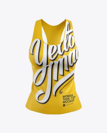 Women's Tank Top Mockup - Front View
