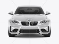 BMW M2 Mockup - Front view