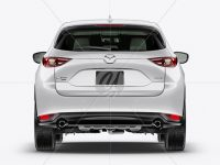 Mazda CX-5 Mockup - Back View