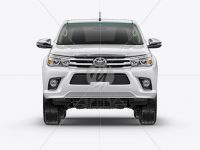 Toyota Hilux Mockup - Front View