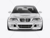 BMW M3 Mockup - Front View
