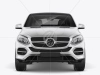 Mercedes-Benz GLE Coupe 2016 Mockup - Front view