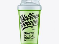 Clear Shaker Bottle Mockup