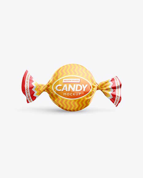 Candy Mockup - Front View