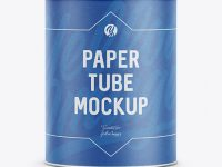 Paper Tube - Front View