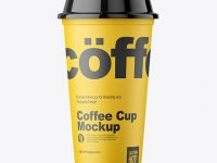 Reusable Coffee Cup Mockup