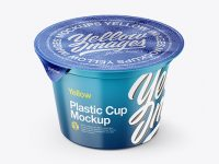 Cup Mockup - Front View (High-Angle Shot)