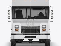 Food Truck Mockup - Front View