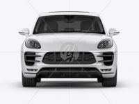 Luxury SUV Сrossover Mockup - Front View