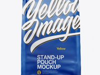 Stand Up Matte Pouch - Front View