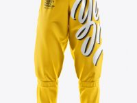 Roller Hockey Pants Mockup