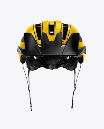 Cycling Helmet Mockup - Front View
