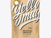 Kraft Soap Bag Mockup