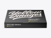 Pizza Textured Box - Front View