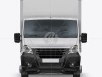 Box Truck Mockup - Front View