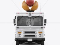Hot Dog Truck Mockup - Front View