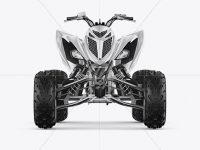 Quad Bike Mockup - Front View