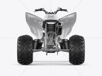 Quad Bike Mockup - Back View