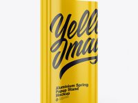 Glossy Spring Pop-Up Stand Mockup