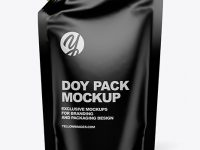 Glossy Doy Pack Mockup