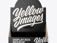 Glossy Display Box Mockup