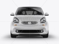 Smart Fortwo Mockup - Front View