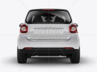 Smart Fortwo Mockup - Back View