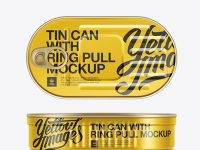 Sardine Tin Can Mock-up