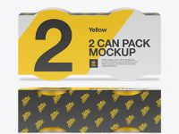Tin Can 2 Pack Mockup